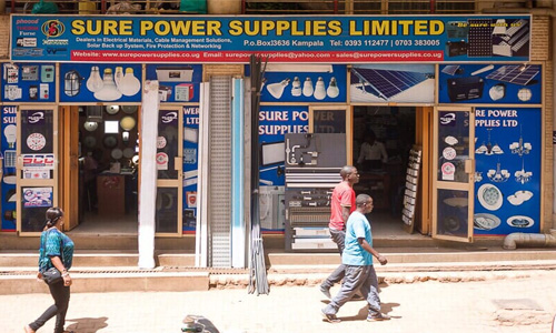 Electrical suppliers in Uganda